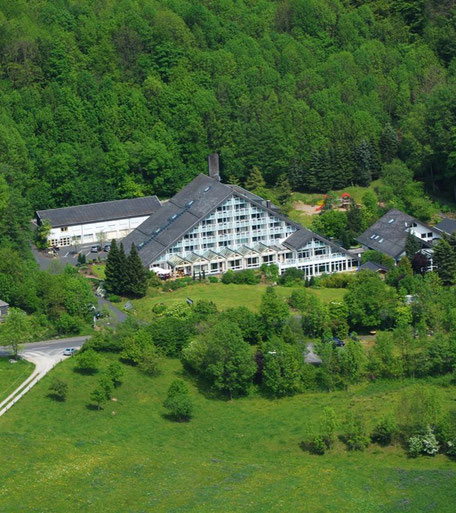 Das 4 Sterne Hotel Rhön Garden ist zu Fuß erreichbar
