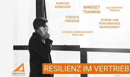Faktoren für Resilienz im Vertrieb