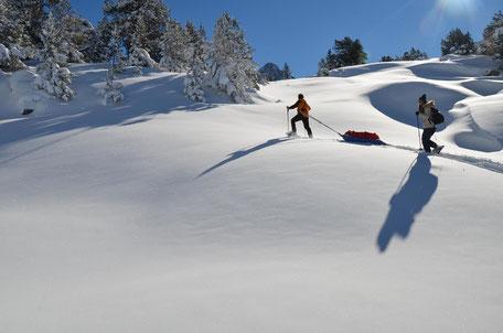 randonnées raquettes dans les Pyrénées