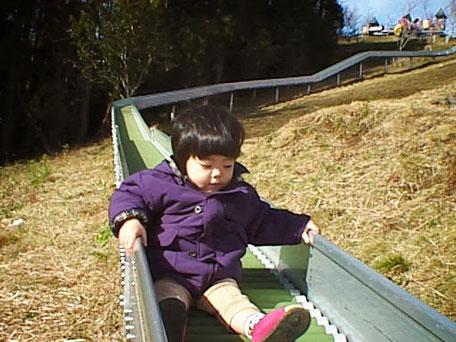 ローラー滑り台 1998年12月7日撮影
