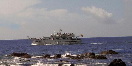 Bootstouren Valle Gran Rey auf La Gomera