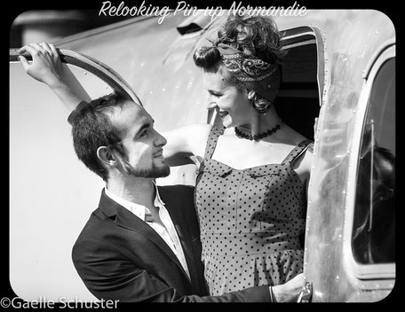 Relooking pin-up couple elle et lui, shooting photo
