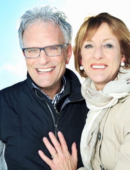 Älteres Paar Mann und Frau