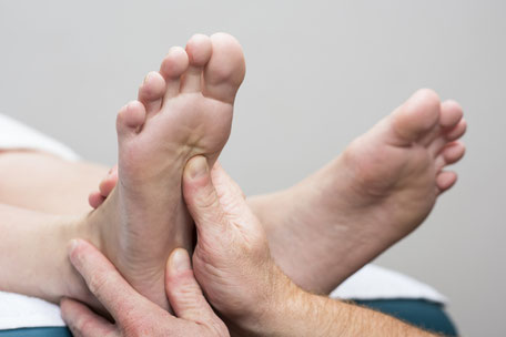 Fussreflexzonentherapie - Massage und Sporttherapie GOOD Nebikon