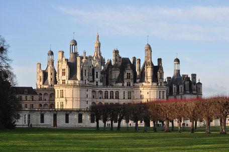 Chateau Chambord an der Loire