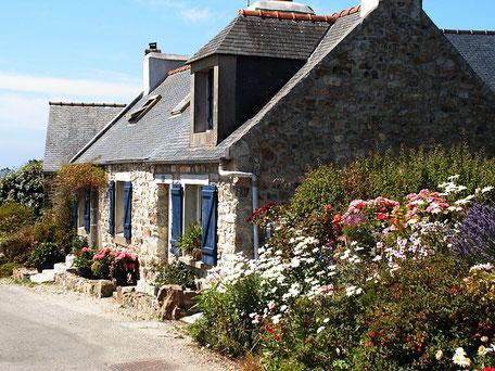 Steinhäuschen in der Bretagne
