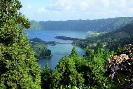 Küste bei den Azoren