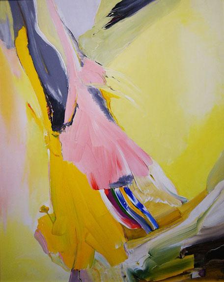 Session 11: Acryl auf Leinwand 80x100cm € 800