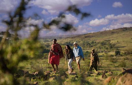 Wandersafari Masai Mara - Kenia