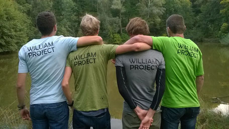 "das ""William Project Team"" (Foto: Manuela Wally)"