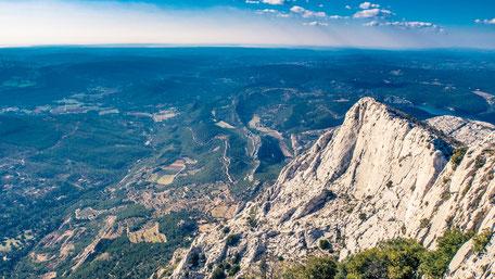 Montagne Sainte Victoire - Aix en provence