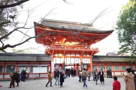 下鴨神社初詣の画像