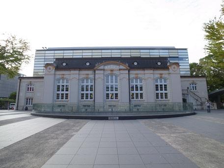 京都府立図書館  写真  / 正面