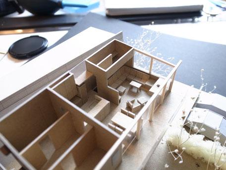 O邸 模型LDK部分の画像