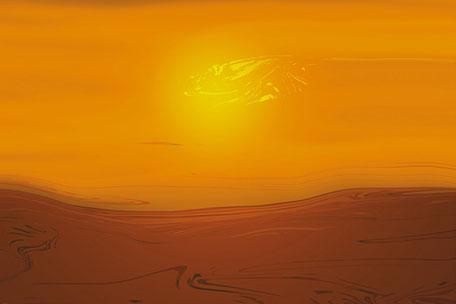 Kunstwerk: Sahara