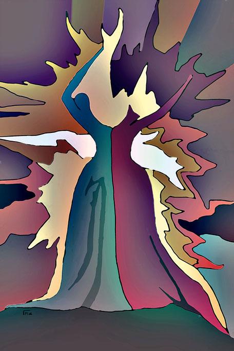Kunstwerk: Dancing of emotion 2
