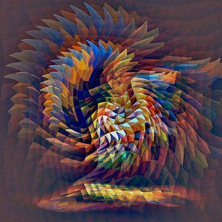 Kunstwerk: Kristallus 3