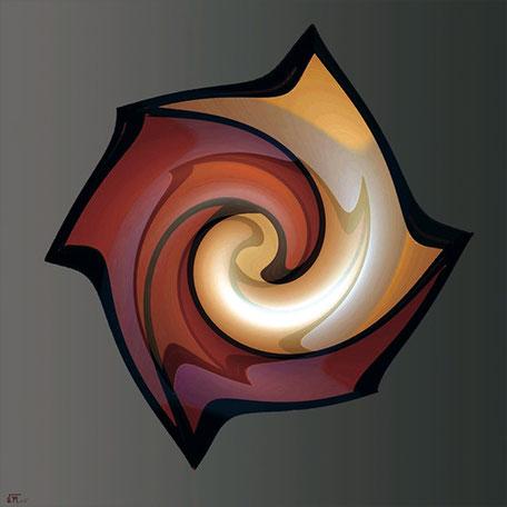 Kunstwerk: Fossilie 2