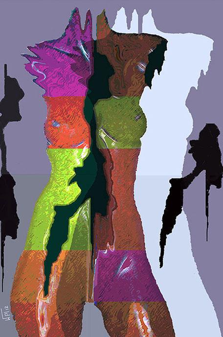 Kunstwerk: Traumfragmente 3