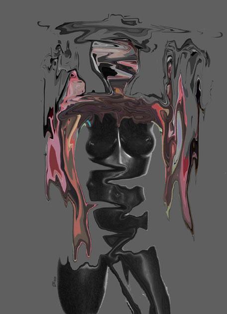Kunstwerk: In black