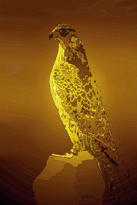 Kunstwerk: Falke 3