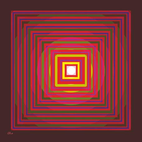 Kunstwerk: Energiegenerator 4te Dimension