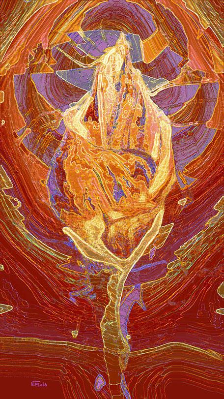 Kunstwerk: Knospe of  spirit