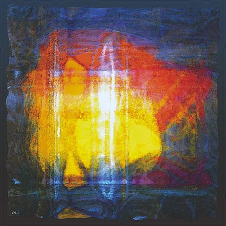 Kunstwerk: Spirituelles Licht