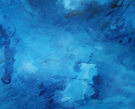 ohne Titel, Acryl auf Leinwand, 90 x 90