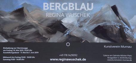 Regina Wuschek, Blaues Land, Malerin, Murnau