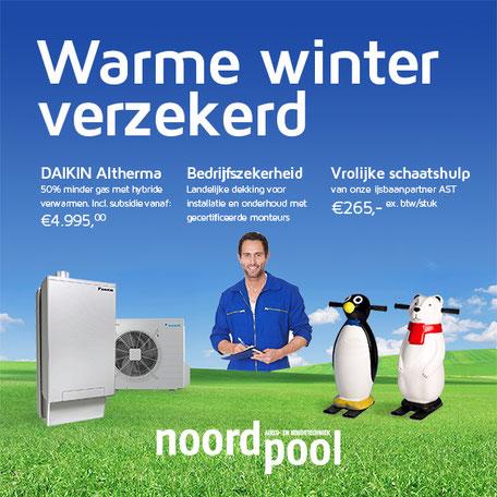 Warme winter verzekerd