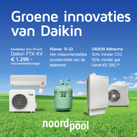 Groene innovaties van Daikin