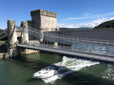 Conwy Brücke und Schloss