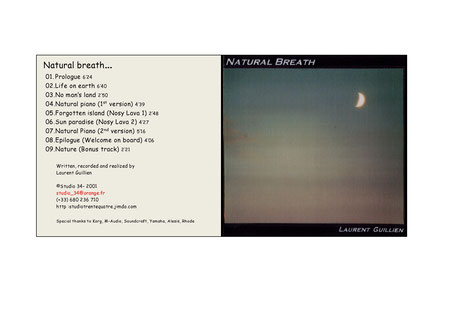 Pochette Album: Natural Breath 2001