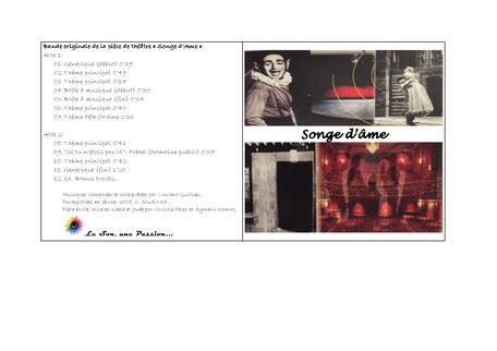 Pochette Album Songe d'Âme 2005