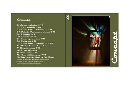 Pochette Album Concept 2012