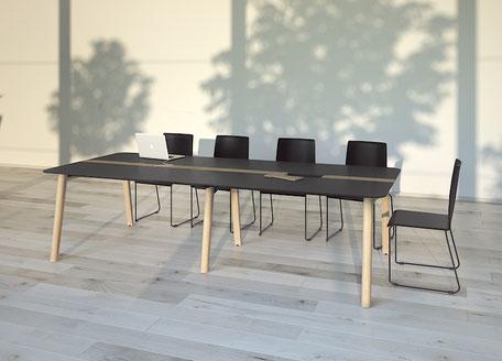Besprechungstisch BE-NOVA Meetingtisch im Sitzen