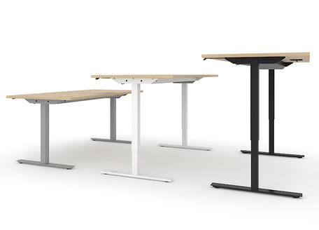 Tischgestell - Varianten des Arbeitstisches ONE