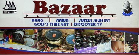 WEB Dubois Bazaar Logo