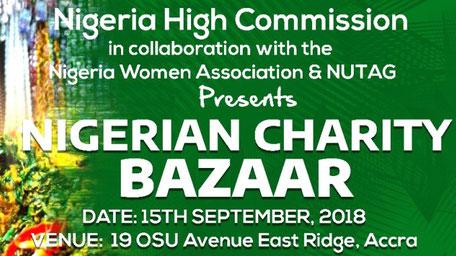 Cover Nigerian Charity Bazaar