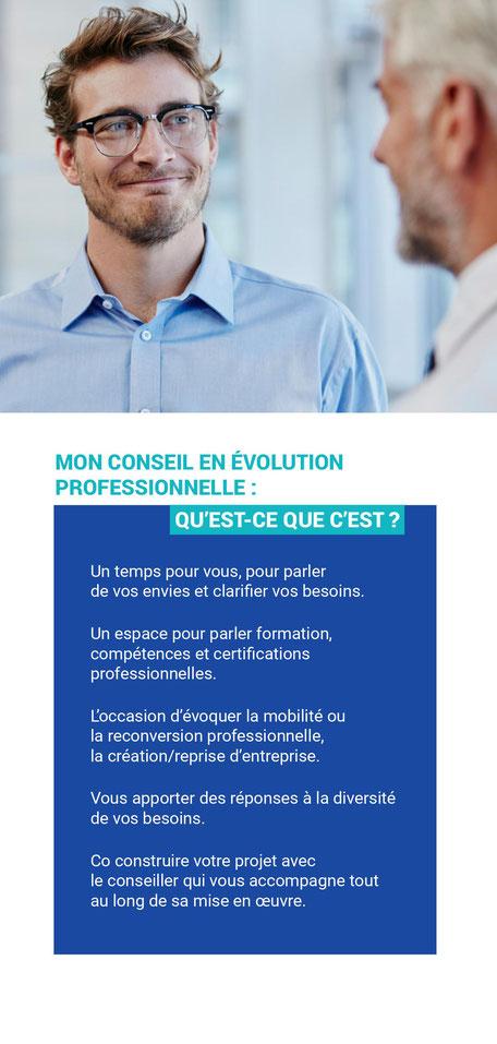Mon conseil en évolution professionnelle CMA34 Hérault Montpellier Occitanie entreprise salarié