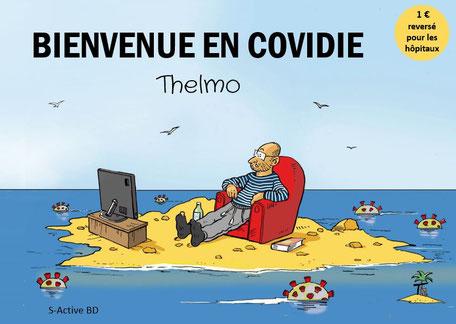 Bienvenue en Covidie- Thelmo - couvertur de BD éditions S-Active