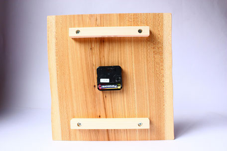 壁掛け時計 ウォールクロック 木 時計 ナチュラル ぬくもり 国産 単三電池 飛騨高山