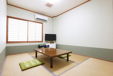 【禁煙】 102号室 和室 6畳 (1~2名)
