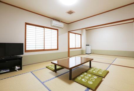 【禁煙】 103号室 和室 14畳 (1~8名)