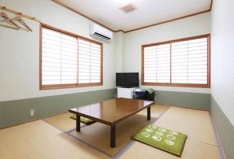 【禁煙】 101号室 和室 6畳 角部屋 (1~2名)