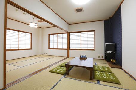 【禁煙】 201号室 和室 13.5畳  角部屋 (1~7名)