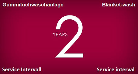 2 Year Service Intervall