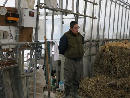 牛農家の菅野さん