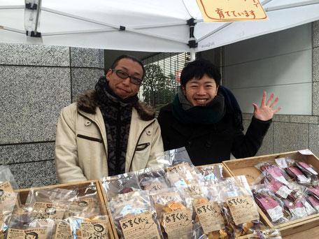 合同会社菜友館、代表の松村博行さん。「得た情報を鵜呑みにし過ぎずに、ぜひ自分で調べて、判断してほしいと思います。」
